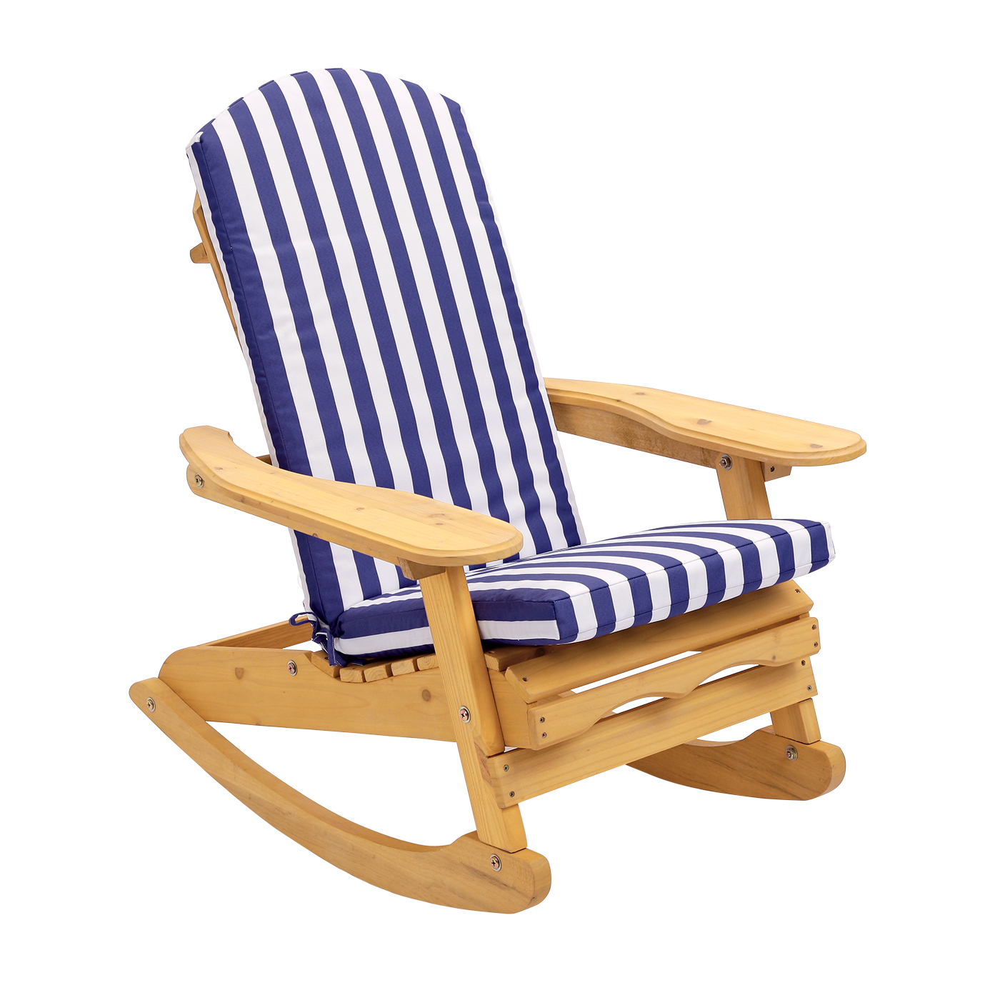 details about outdoor trueshopping adirondack bowland patio rocking chair with cushion